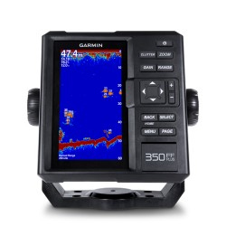 Эхолот Garmin FISHFINDER 350 PLUS с трансдьюсером GT20-TM